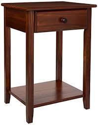 nightstand with usb. Beautiful Usb Casual Home 64724 Night Owl Nightstand With USB PortsWarm Brown On With Usb R