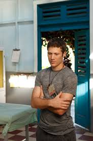 rachelle lefevre abc s off the map gallery photo  off the map stars zach gilford as tommy fuller valerie cruz as zitajalehrena