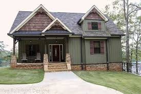 small rustic craftsman cottage house plan autumn place