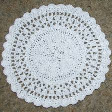 Free Crochet Placemat Patterns Enchanting Free Crochet Patterns For Christmas Placemats Pakbit For