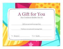 Homemade Card Templates Gift Card Templates Free Homemade Gift Card Template