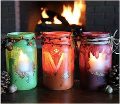 i love all of these mason jar crafts for fall so many