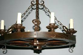 spanish wrought iron lighting a wood wrought iron round 8 light chandelier from wrought iron chandelier spanish wrought iron lighting