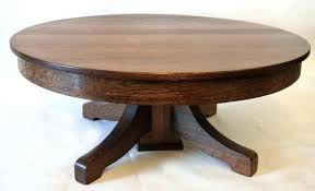 round wood coffee table oak simple brown lacquered wooden black with glass top