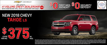 Chevy Tahoe Lease Specials in New Jersey from Hawthorne Chevrolet.