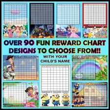 Lego Batman Reward Chart Personalised Kids Reward Chart Personalise It Products