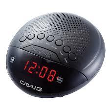 radio for office. Dual Alarm Clock Radio With Bluetooth \u0026 0.6\u2033 Display (CR41483) For Office