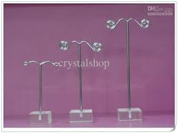 Earring Display Stands Wholesale Online Cheap Wholesale Clear Acrylic Tree Jewelry Earring Display 11