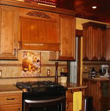 Tuscan Kitchen Tuscan Backsplash Tile Murals Tuscany Design Kitchen Tiles