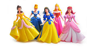 Large Disney Princess Cake Topper Cinderella Belle Aurora Snow