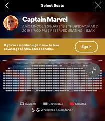 Amc Lincoln Square Imax Seating Chart Imax Theater Beauty