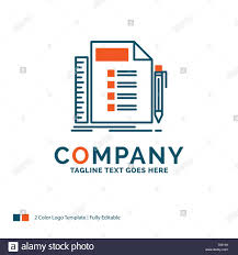 Plan Logo Design Business List Plan Planning Task Logo Design Blue And