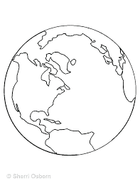 Coloring Pages Of Earth Coloring Page Of The Earth Medium Size Of