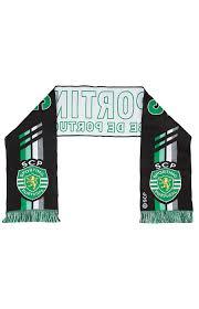 Cachecol Cinzento Sporting Clube de Portugal