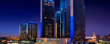 Downtown Detroit Michigan Hotel Detroit Marriott At The