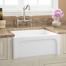 Fireclay Sink Reviews 24 risinger reversible fireclay farmhouse sink casement apron 5159 by uwakikaiketsu.us