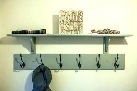 Decorative Coat Rack With Shelf Adorable Wall Mounted Coat Hooks With Shelf Coat Rack With Shelf Marvelous