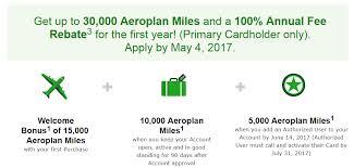 td aeroplan visa infinite get up to 30 000 aeroplan miles and fyf