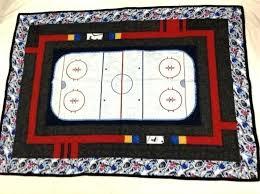hockey rink rug x new quilt ice near rugby hockey rink rug ice area