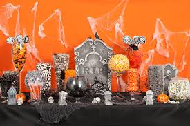 halloween wedding candy bar. Modren Candy Halloween Candy Buffet In Wedding Bar A