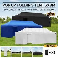 Folding Tent Ogl 3x9m Pop Up Outdoor Gazebo Folding Tent Market Party Marquee
