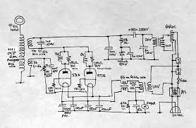 vacuum tube tesla coil simon a j winder tesla coil circuit
