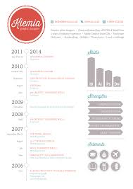 Graphic Design Cv Graphic Design Resume Infographic Icons
