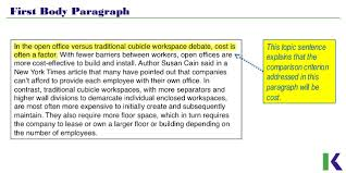 analyzing compare and contrast essays workspace design 7 first body paragraph