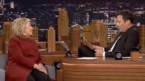 hillary clinton guests on the tonight show starring jimmy fallon mock job interview for president hillary clinton