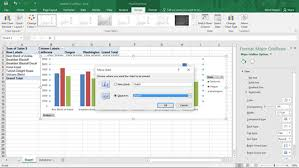 Location Chart How To Change A Pivot Charts Location In Excel Dummies