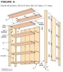 woodworking plans pdf. bookshelf plans wood woodworking pdf o
