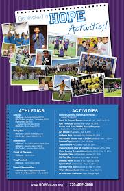 Student Activities Events Calendar 2015 2016 Hope Online Learning
