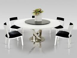 modern round dining room table new at great modern glass round