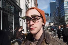 Matthew Schneier Paisley, Heather, Leather & Clip-on Shades ~ NYFW FW11 - 6a010535d07789970c014e8686264e970d-800wi