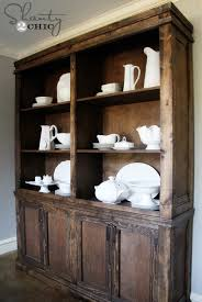 Excellent Design Ideas Diy Rustic Kitchen Hutch Ana White Shanty DIY  Projects