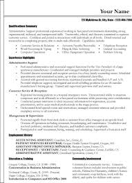 Functional Summary Resume Examples Career Change Resume Career