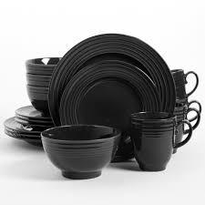 black dinnerware sets. Unique Black Inside Black Dinnerware Sets A