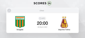 Club deportes tolima s.a., commonly known as deportes tolima, or simply as tolima, is a colombian professional football club based in ibagué, tolima department that currently plays in the categoría primera a. Envigado Vs Deportes Tolima Prediction Betting Tips And Preview 27 March 2021
