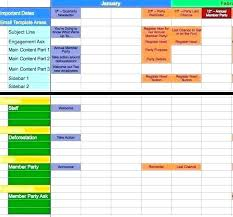 Production Schedule Template Excel Free Download Planning Schedule Template Excel