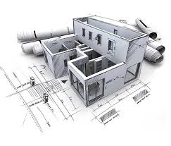 architecture building drawing. 3D-CAD-services- India Architecture Building Drawing
