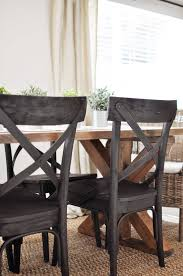 Farmhouse furniture style Outdoor This Easy To Build Farmhouse Table Is The Perfect Addition To Any Dining Or Breakfast Room Cherished Bliss Brace Farmhouse Table Free Plans Cherished Bliss