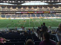 Investors Group Field Section 131 Home Of Winnipeg Blue