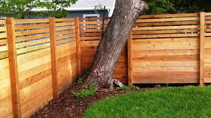 horizontal wood fence panels. Image Of: Modern Horizontal Fence Panels Wood