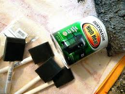 paint for inside fireplace how to freshen the inside of your fireplace with  paint spray paint . paint for inside fireplace ...