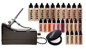 kett airbrush kits cosmetics high definition