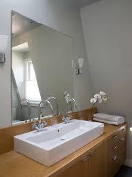 frameless bathroom vanity mirror. Bathroom Vanity Mirrors 14 Reasons To Use Concrete Countertops In With  Gorgeous Frameless For Bathrooms Frameless Bathroom Vanity Mirror L