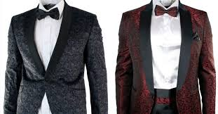 Patterned Tuxedo Custom How To Dress Like Leading Men On The Red Carpet Slikhaar TV