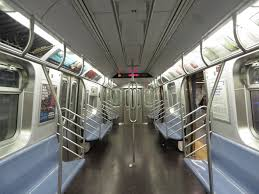 inside subway train. Delighful Inside NYC Subway R160 9800 Interior With Double  Inside Train