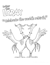 Small Picture The Lorax Coloring Pages