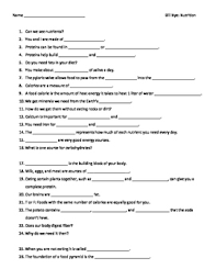 nutrition worksheet video worksheet guide for bill nye nutritionseriously